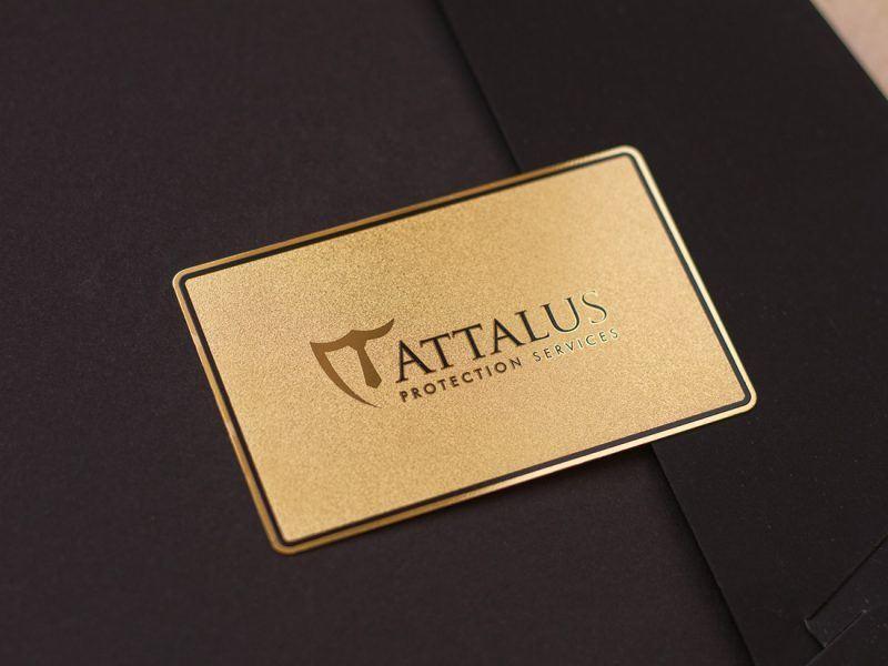 Metal Gold Card 1